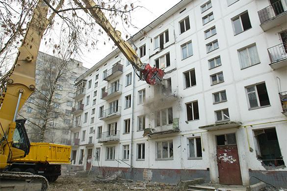 Опубликован список пятиэтажек под снос в Москве