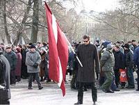 Наследники латышского легиона СС выходят на улицы