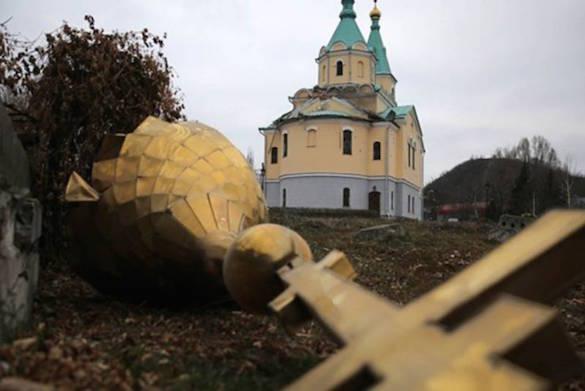 Украина хочет загнать РПЦ