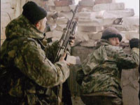 В Чечне произошла перестрелка с боевиками