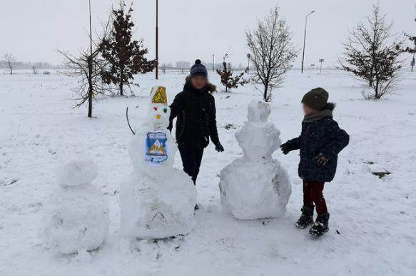 Жительницу Белоруссии оштрафовали за «политизацию снеговиков».