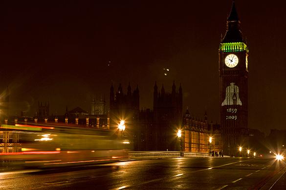 """В Лондоне началась зачистка """"русских"""" активов?. лондон, биг бен, британия, ночь, город"""