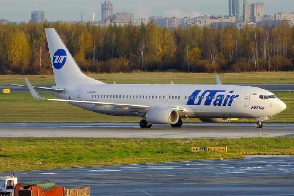 Самолет «Ютэйр» чуть неразбился при заходе напосадку в столицеРФ