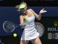 Шарапова без проблем прошла в третий круг Australian Open. Sharapova
