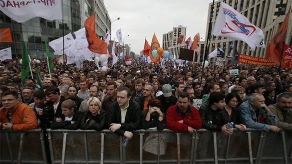 Мэрия Москвы пообещала пресечь несогласованные акции на Болотной площади. акция оппозиции
