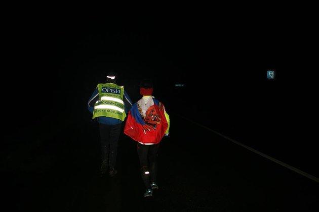 Второй день одиночного забега из Москвы в Сочи: Ерохин пробежал больше 70 км. 288077.jpeg