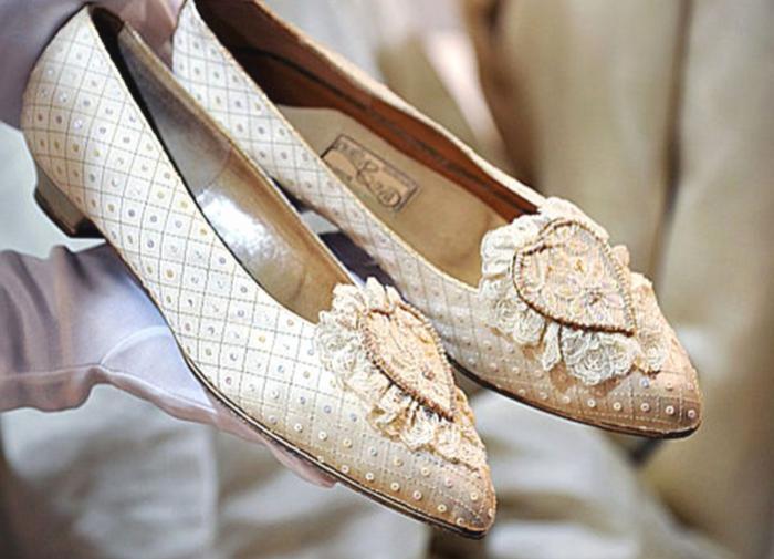 свадебные туфли принцессы дианы