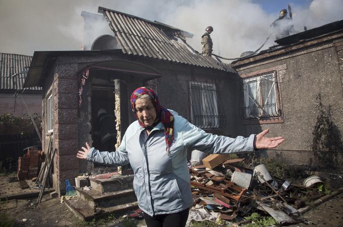 Только за сентябрь в Донецке умерли от голода 16 стариков, боявшихся выйти на улицу из-за обстрелов. 301078.jpeg