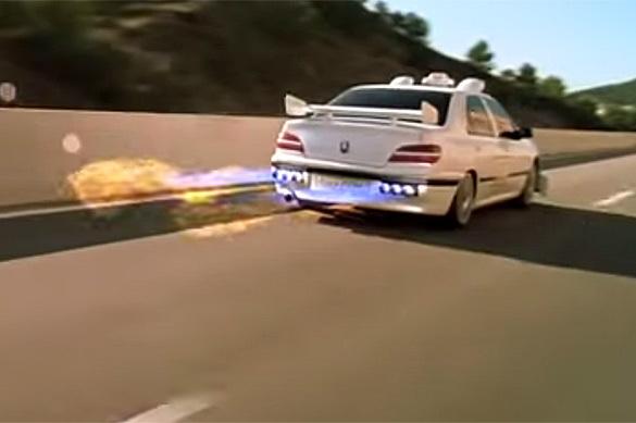 Камера ГИБДД поймала в Орле сверхзвуковой автомобиль