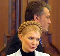 Ющенко готов поздравить Украину с Новым... газовым кризисом