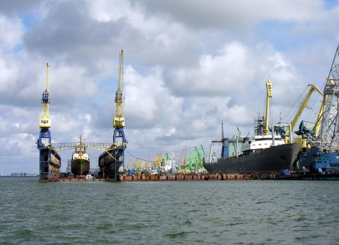 Литва, порт Клайпеда