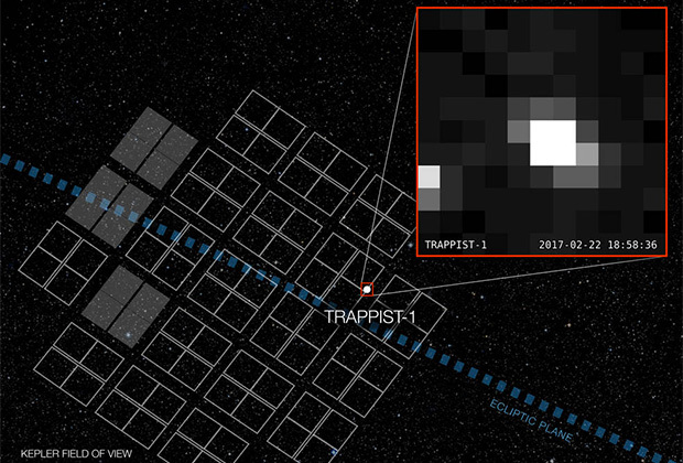 NASA показало фотографии системы, планеты которой могут быть пригодны для жизни