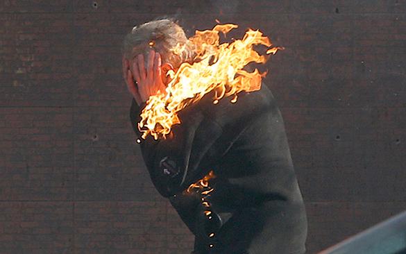 Под Тамбовом мужчина упал в костер и сгорел заживо. Под Тамбовом мужчина упал в костер и сгорел заживо