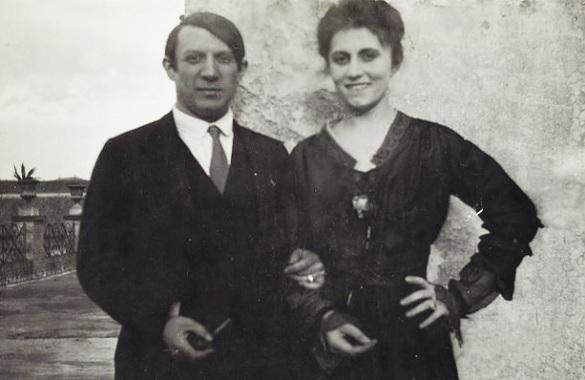 Необузданного Пикассо изменила жена