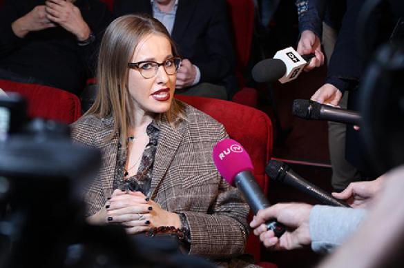 Ксения Собчак вступила в патрию