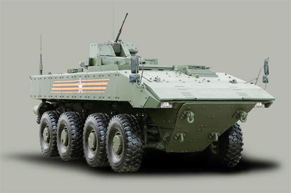 Танк на колесах: в России создадут боевую машину будущего. Танк на колесах: в России создадут боевую машину будущего