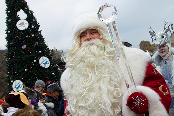 Дед Мороз высказался о санкциях, Санта Клаусе и Святом Николае. дед мороз