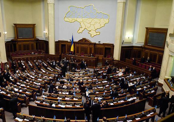 Киев не признает легитимность нынешних властей Донбасса. Зал заседаний Украинской Рады