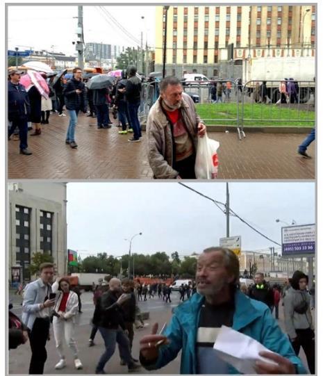 Митинг «оппозиции» на площади Сахарова стал бенефисом московских фриков. 404085.jpeg
