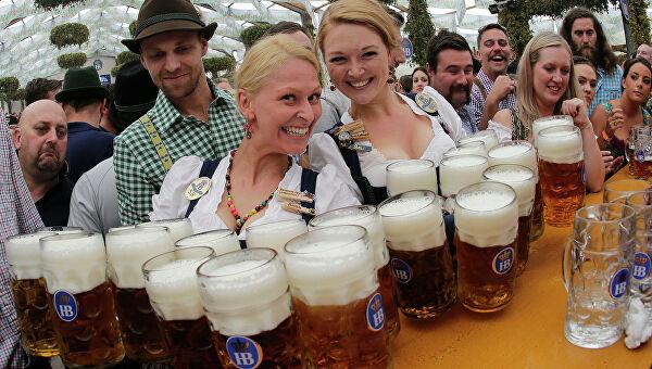Бавария: Великий пивной октябрь. Пивной фестиваль в Баварии