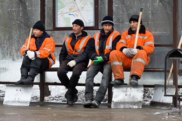 Нелегальные мигранты пытаются обустроиться в России. Нелегальные мигранты пытаются обустроиться в России