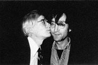 С Джоном Ленноном.