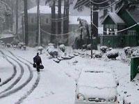 Запад США скован сильнейшим снегопадом