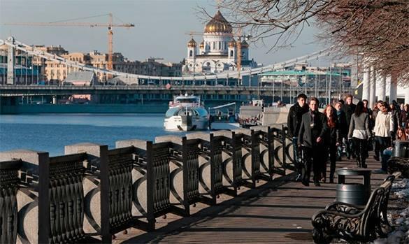 Пасхальное воскресенье стало самым теплым днем с начала года в Москве, побит 14 летний рекорд. Погода в Москве