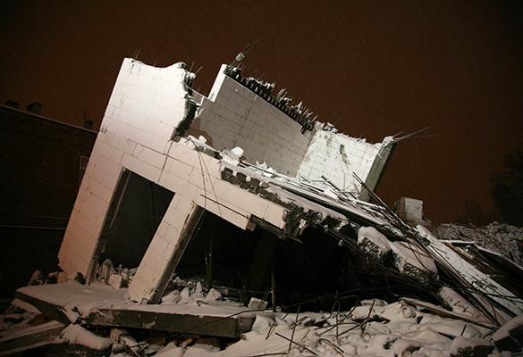 В центре Киева из-за несанкционированного ремонта обвалился дом,