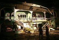 Мощная бомба разрушила гостиницу на Филиппинах. hotel
