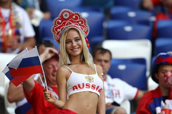 Иностранные болельщики продолжают восхищаться