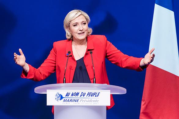 Марин Ле Пен уверена в своей победе