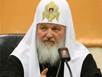 Патриарх Кирилл отслужил в Киево-Печерской лавре