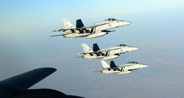 Американские ВВС отыскали штаб-квартиру ИГИЛ по селфи и сровняли ее с землей. ВВС США