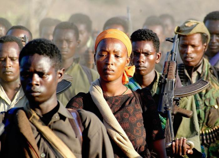 Эфиопия повстанцы