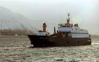 На судне ВМФ Греции прогремел взрыв