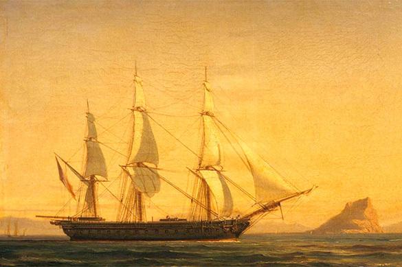 Как принц де Лень на фрегате в Японию ходил. Как принц де Лень на фрегате в Японию ходил