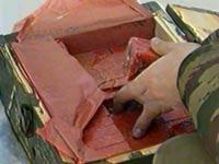 Чеченка сдала в милицию 182 килограмма взрывчатки
