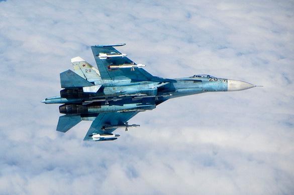 Су-27 перехватил ядерный бомбардировщик США над Балтикой