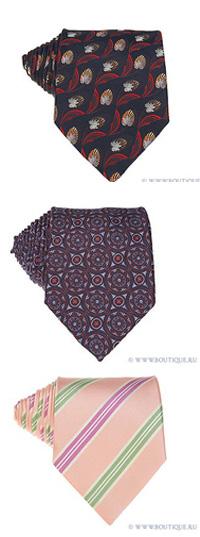 Их лучше не стирать и не гладить, иначе галстуки могут потерять