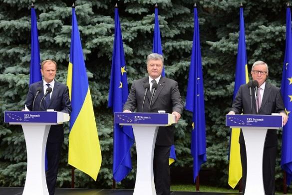 Украина и ЕС: близко, но не очень. Украина—ЕС: поцелуи ни к чему не обязывают