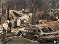 В Австралии жителям уничтоженного пожаром города разрешили