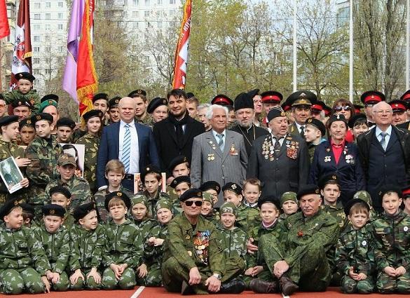 В парке Сокольники прошел военно-спортивный праздник, посвящен