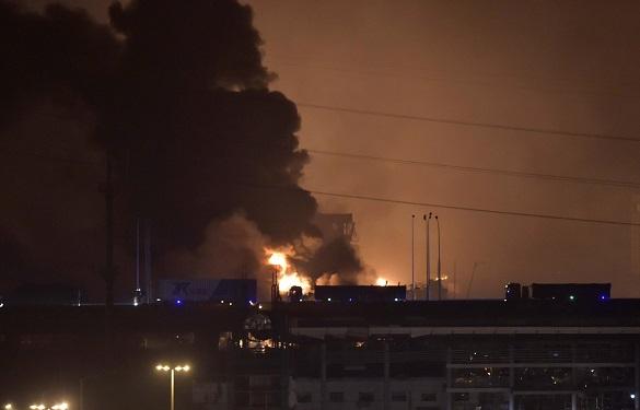 Китай, взрыв в порту Тяньцзин