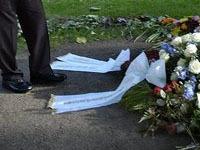 Неизвестные осквернили могилу экс-премьера Швеции. grave