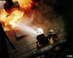В Москве снова пожар. И опять горит жилой дом