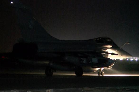 Франция нанесла массированный удар по ИГ