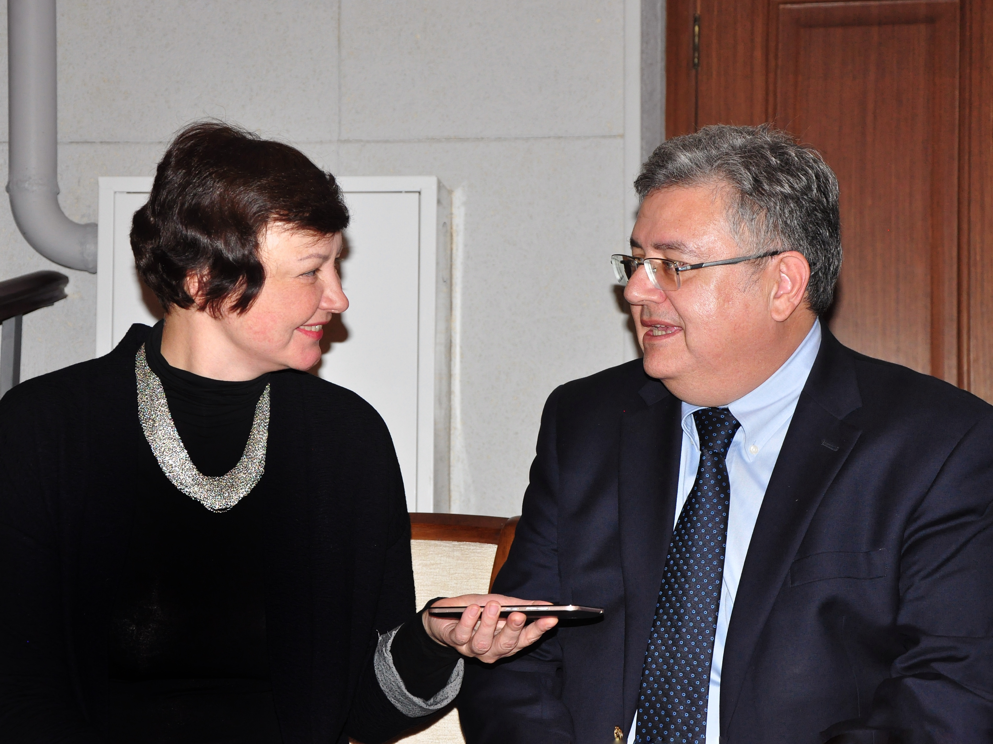 Наталия Красовская и Лазип Дириоз