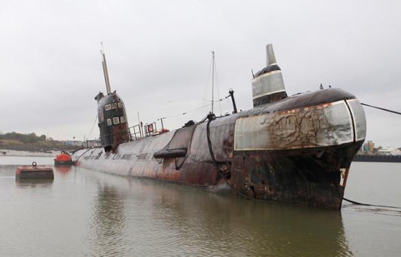 Советский ракетный атомоход таранил айсберг. История столкновения подводной лодки с айсбергом