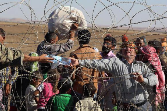 Россия и Сирия обвиняют США в удерживании беженцев в лагере